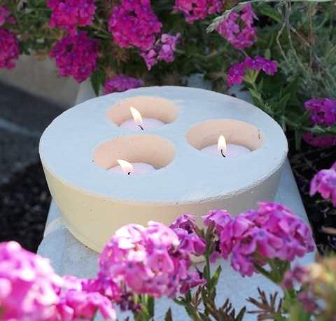 На 3 свечи