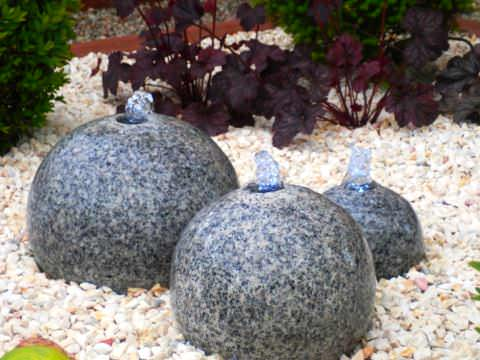виды природного камня в саду