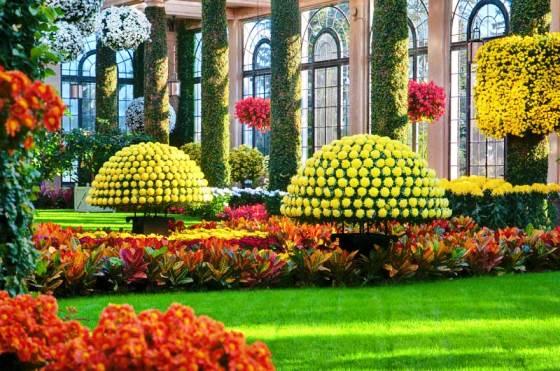 Сады Дюпона в Филадельфии фото