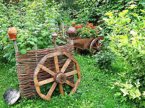 стиль кантри садовый