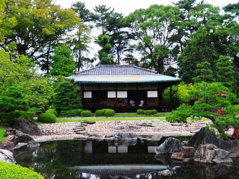 корейский стиль сада