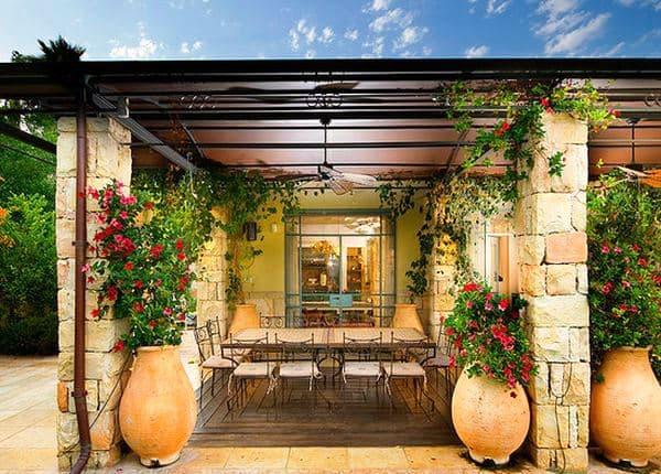 средиземноморский сад фото