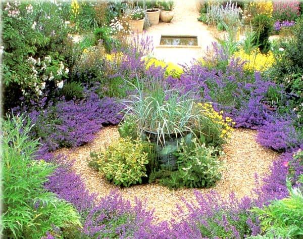 сад в стиле средиземноморском
