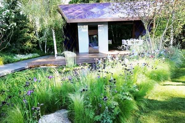 скандинавский садовый стиль фото