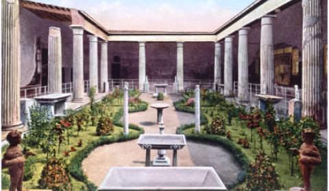 Дом Веттиев в Помпеях. Вторая половина I века